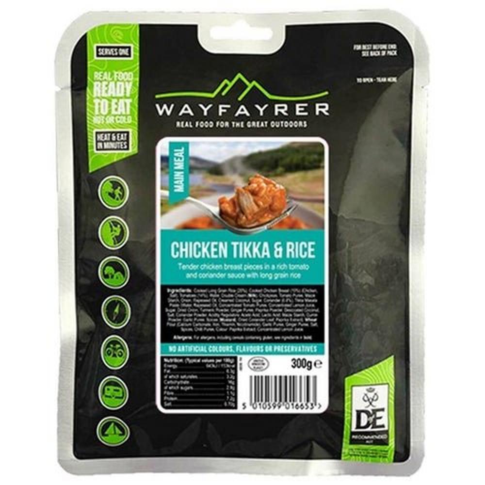 Wayfayrer Food Chicken Tikka & Rice