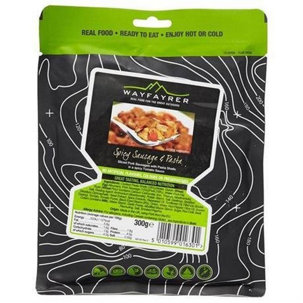 Wayfayrer Food - Spicy Sausage and Pasta