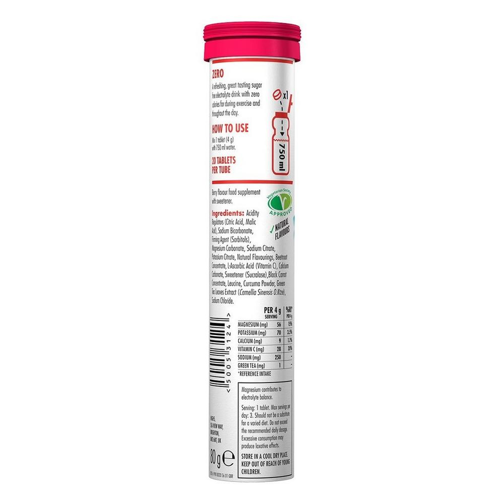 High Five H5 Zero Active Hydration 20 Tablet Tube Berry