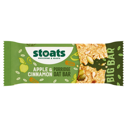 Stoats Apple & Cinnamon 85g Bar