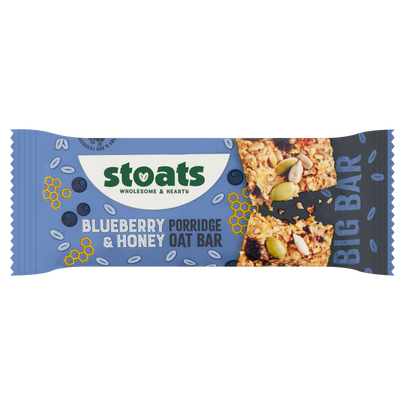 Stoats Blueberry and Honey 85g Bar