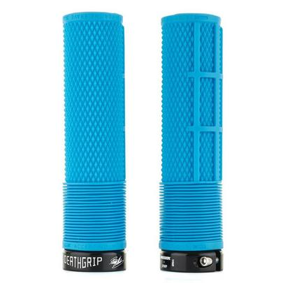 Dmr Deathgrip Soft Thick MTB Grips - Blue