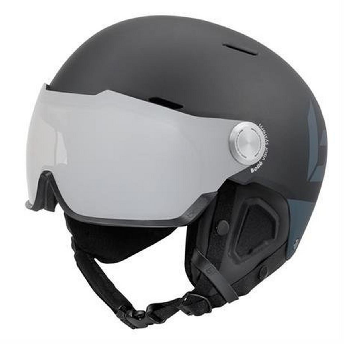 Bolle Ski Helmet Might Visor Premium Photochromic Cat 1-2 Matte Black Grey