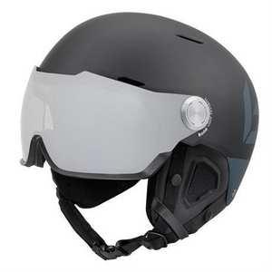 Ski Helmet Might Visor Premium Photochromic Cat 1-2 Matte Black Grey