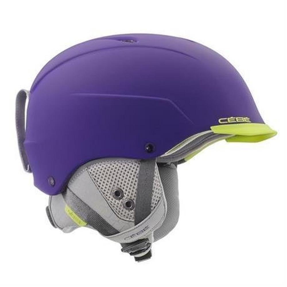 Cebe Ski Helmet Contest Visor Ultimate MIPS Purple Lime