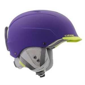 Ski Helmet Contest Visor Ultimate MIPS Purple Lime