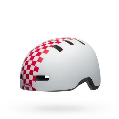 Bell Kid's Li'l Ripper Helmet - White/Pink - Toddler