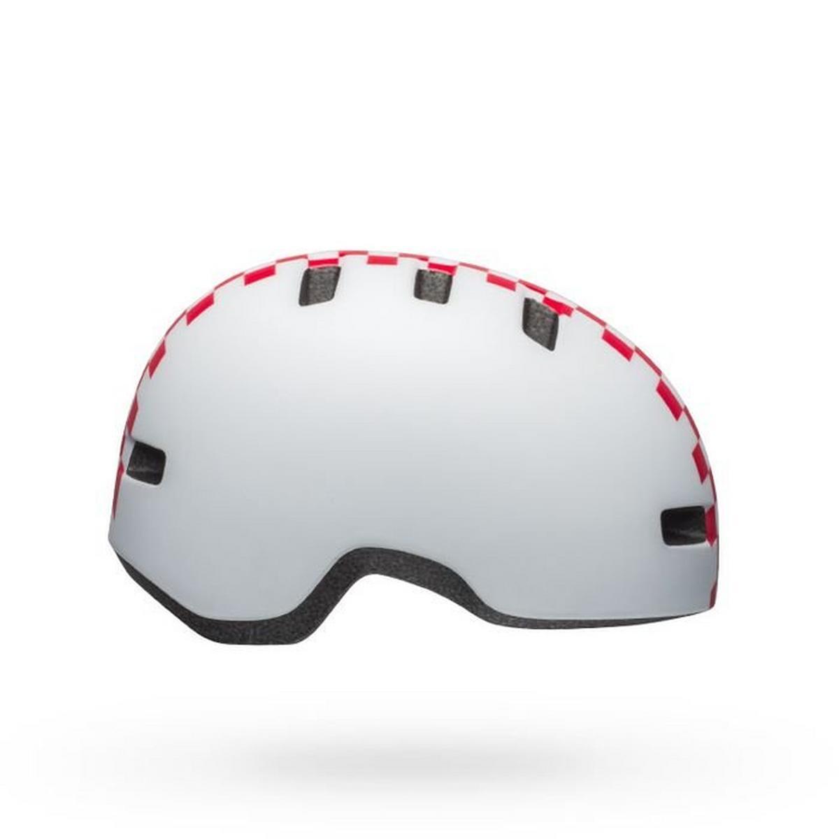 Bell Toddler Li'l Ripper Helmet - White/Pink