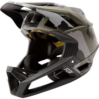 Fox Proframe MTB Helmet - Green Camo