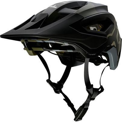 Fox Speedframe Pro MTB Helmet - Green Camo