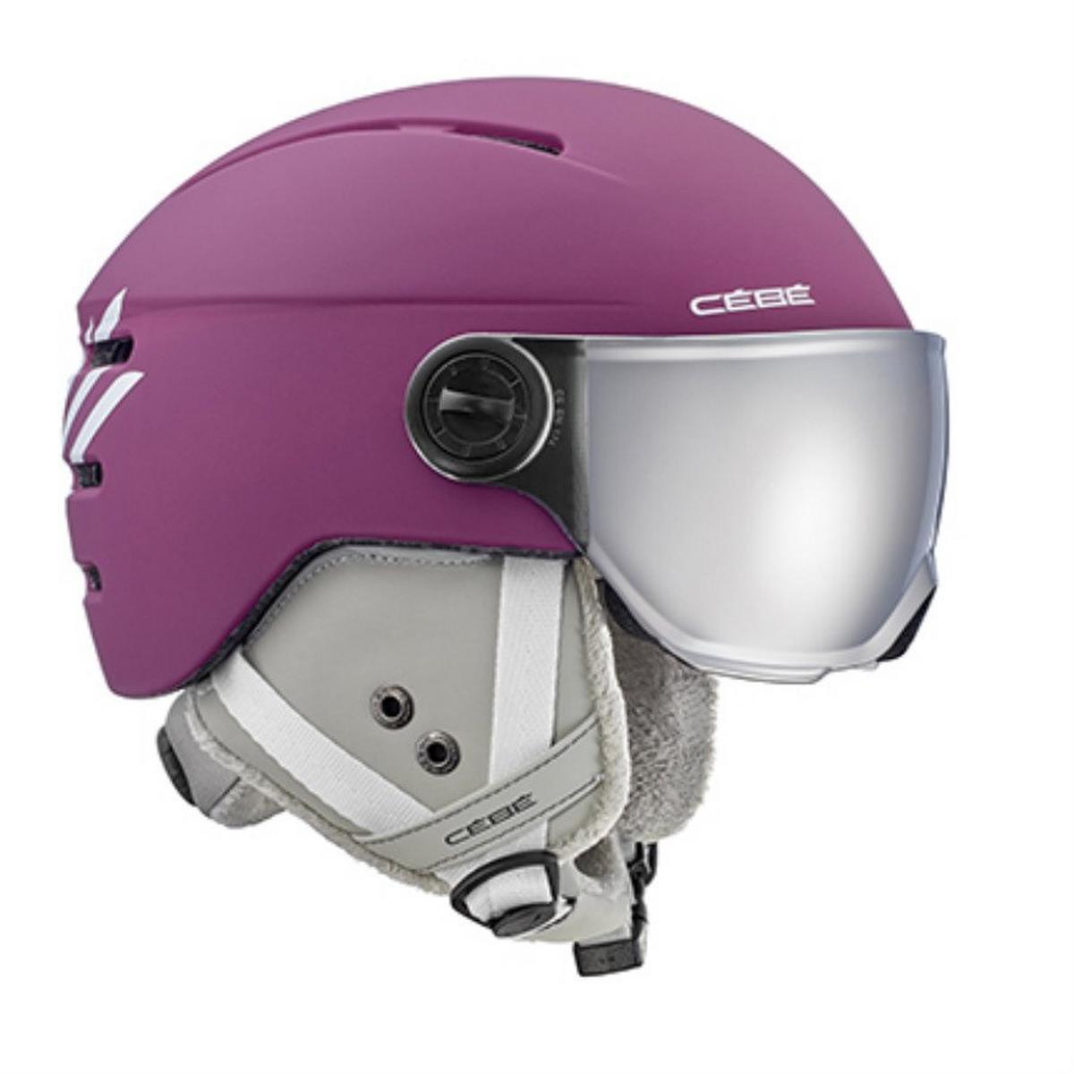 Cebe Fireball Junior Visor Ski Helmet