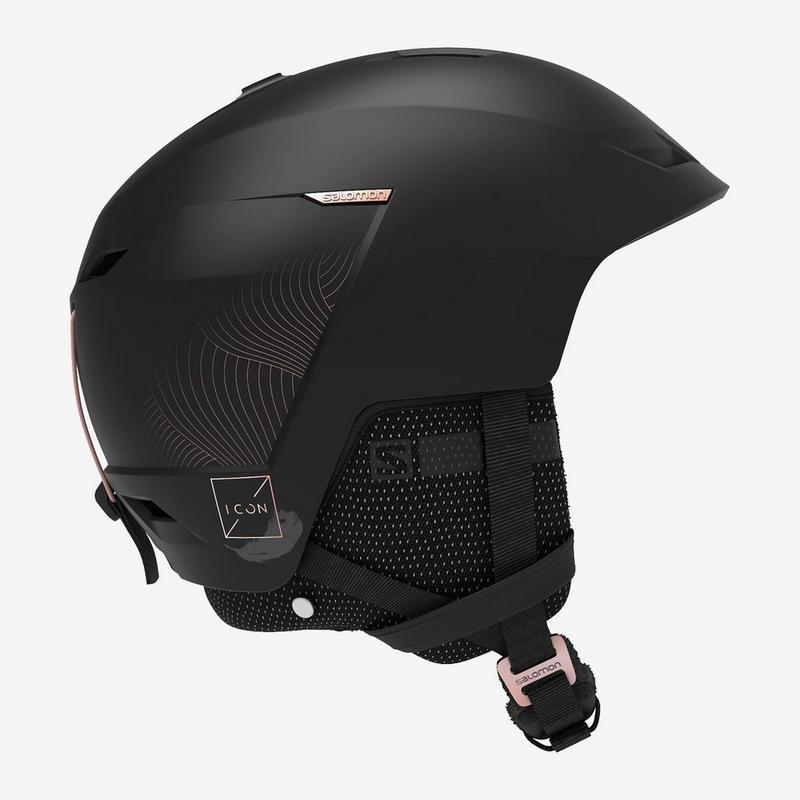 Women's Icon LT CA Helmet - Black