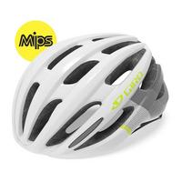 Women's Saga MIPS Road Cycling Helmet - White/Green