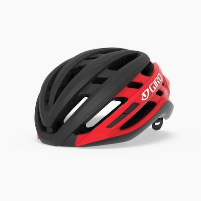 Giro Agilis MIPS Road Cycling Helmet - Matt Black/Bright Red