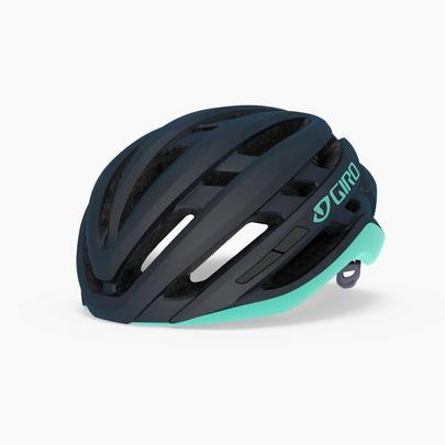 Giro Women's Agilis Road Cycling Helmet - Matt Midnight/Cool Breeze