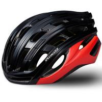 Propero III ANGi Road Helmet - Black/Red
