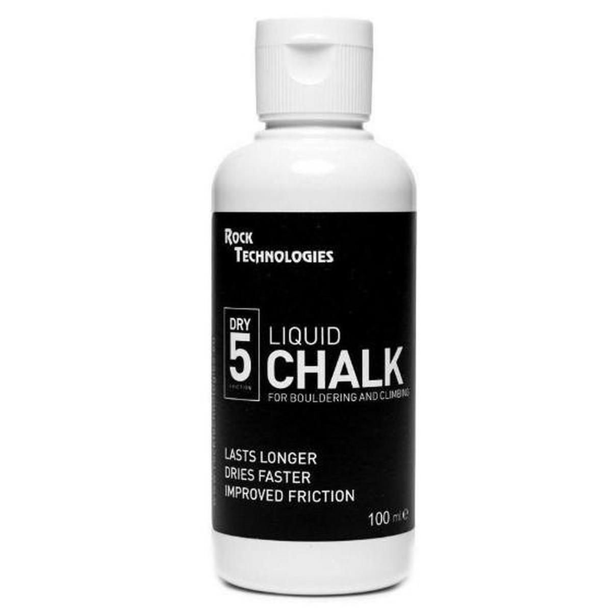 Rock Technology Dry 5 Liquid Chalk 100ml - White