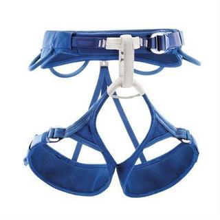 Petzl Climbing Harness Men's Adjama Blue