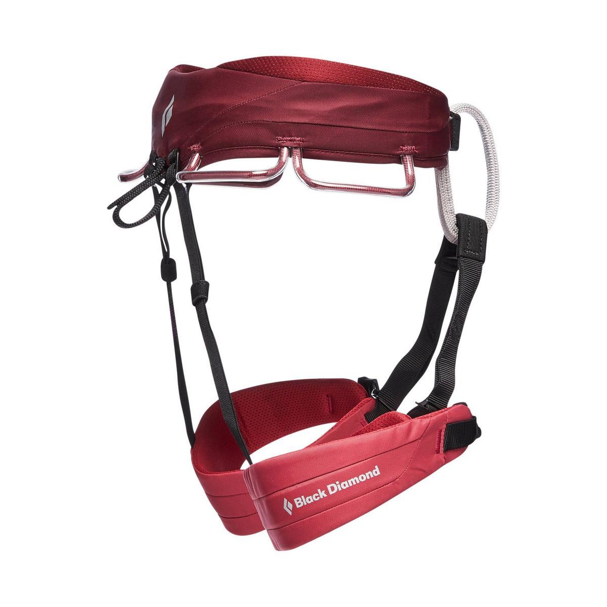 Black Diamond Equipment Women's Black Diamond Equipment Momentum Harness - Red