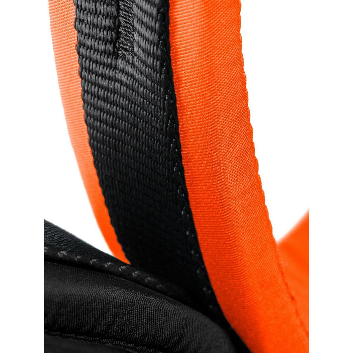 Mammut 4 Slide Harness - Black / Orange