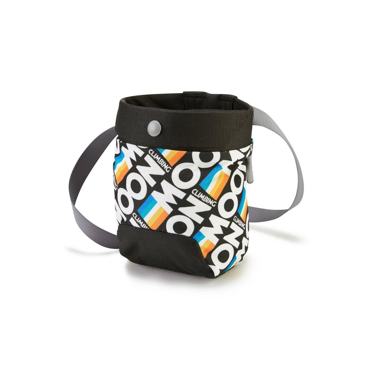 Moon Sport Chalk Bag - Retro Stripe Black