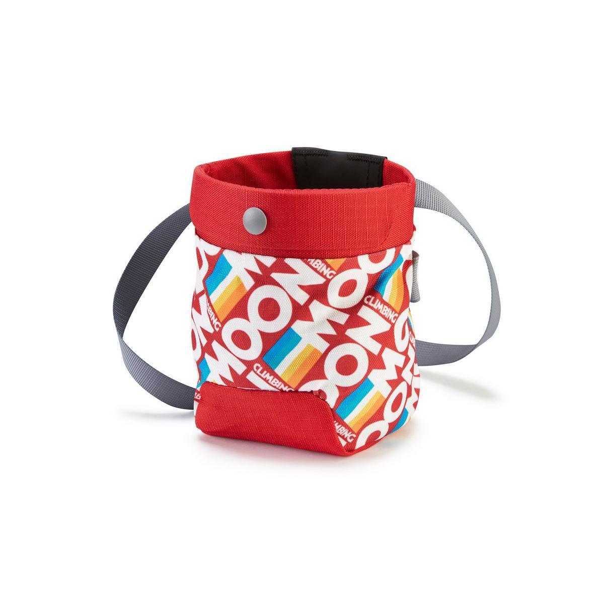 Moon Sport Chalk Bag - Retro Stripe Red