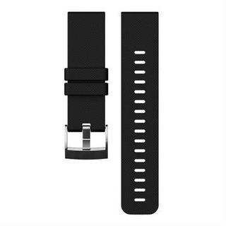 Watch Spare/Accessory Strap Black Silicone for Traverse