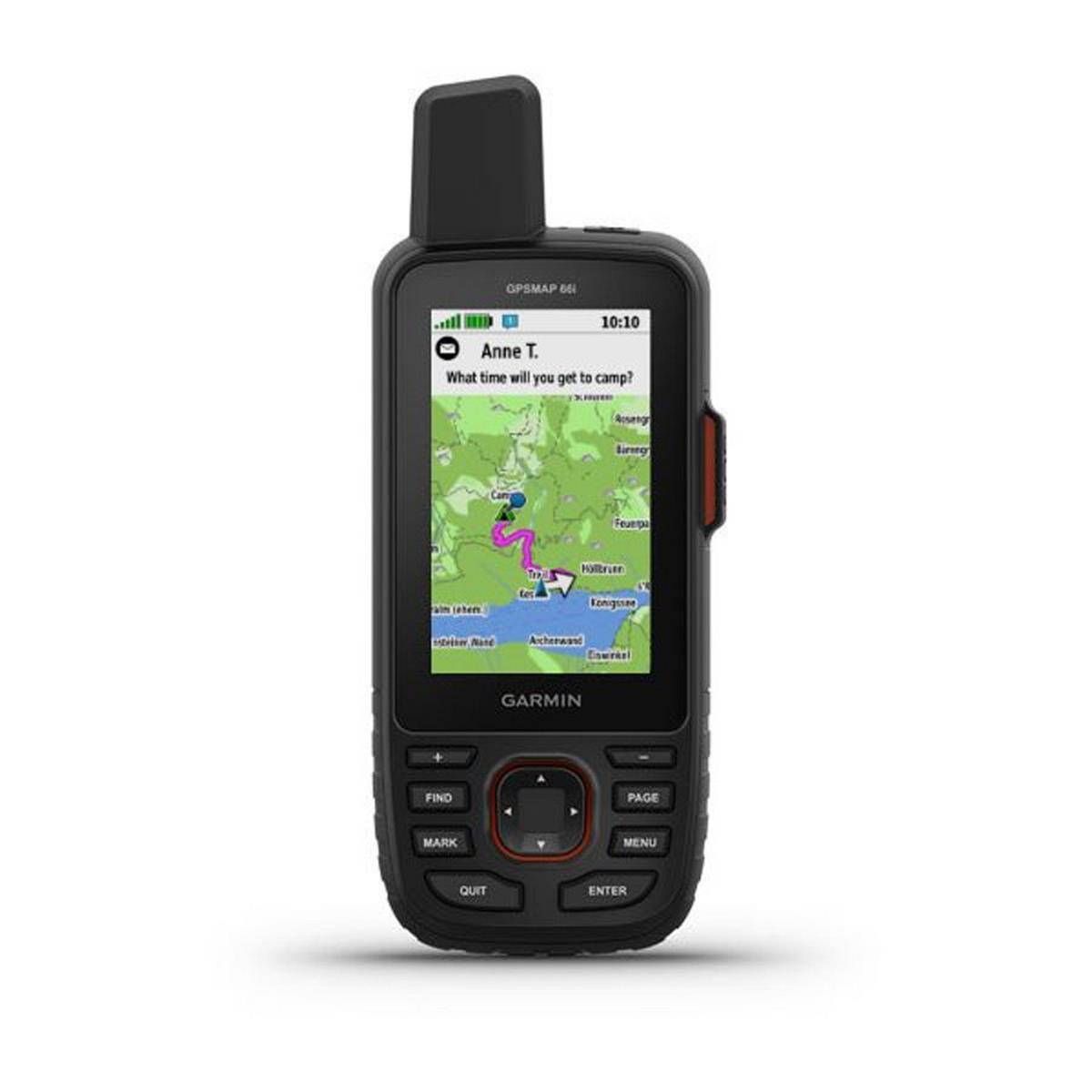 Garmin GPS MAP 66i (unit + TopoActive Europe mapping)