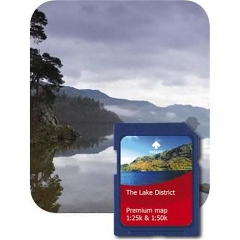 GPS Spare/Accessory: Lake District 1:25000 Premium Map