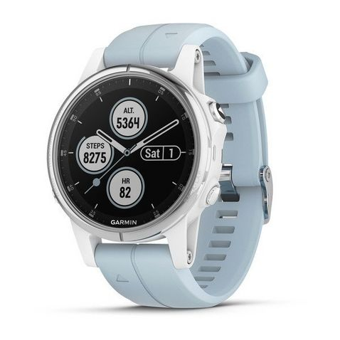 d0c7665f57f White Garmin Fenix 5S Plus Multisport GPS Watch ...