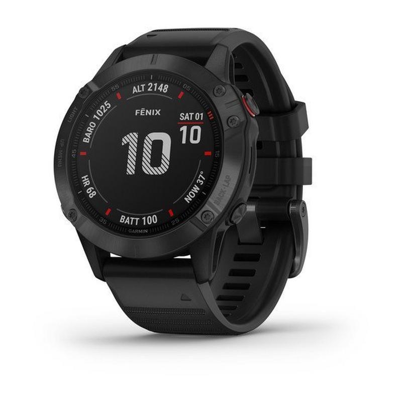 GPS Watch Fenix 6 Pro Black/Black Band