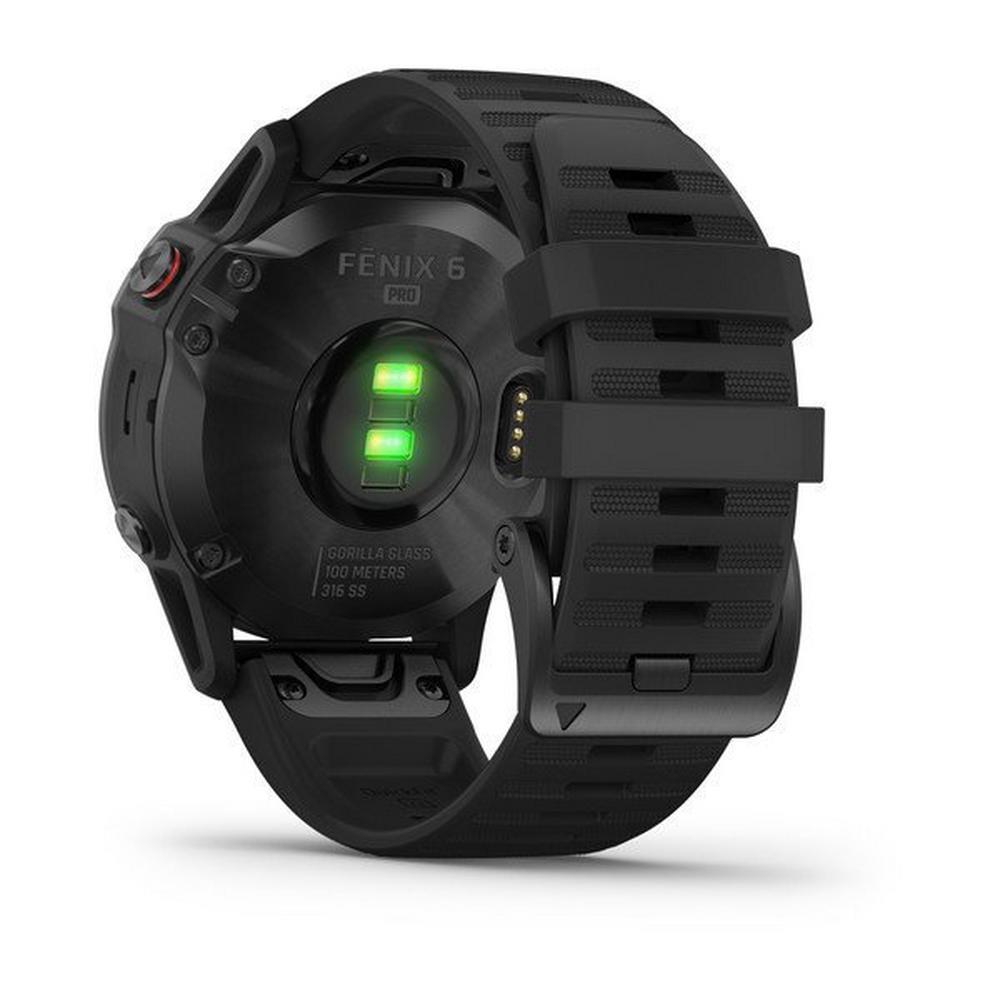 Garmin GPS Watch Fenix 6 Pro Black/Black Band