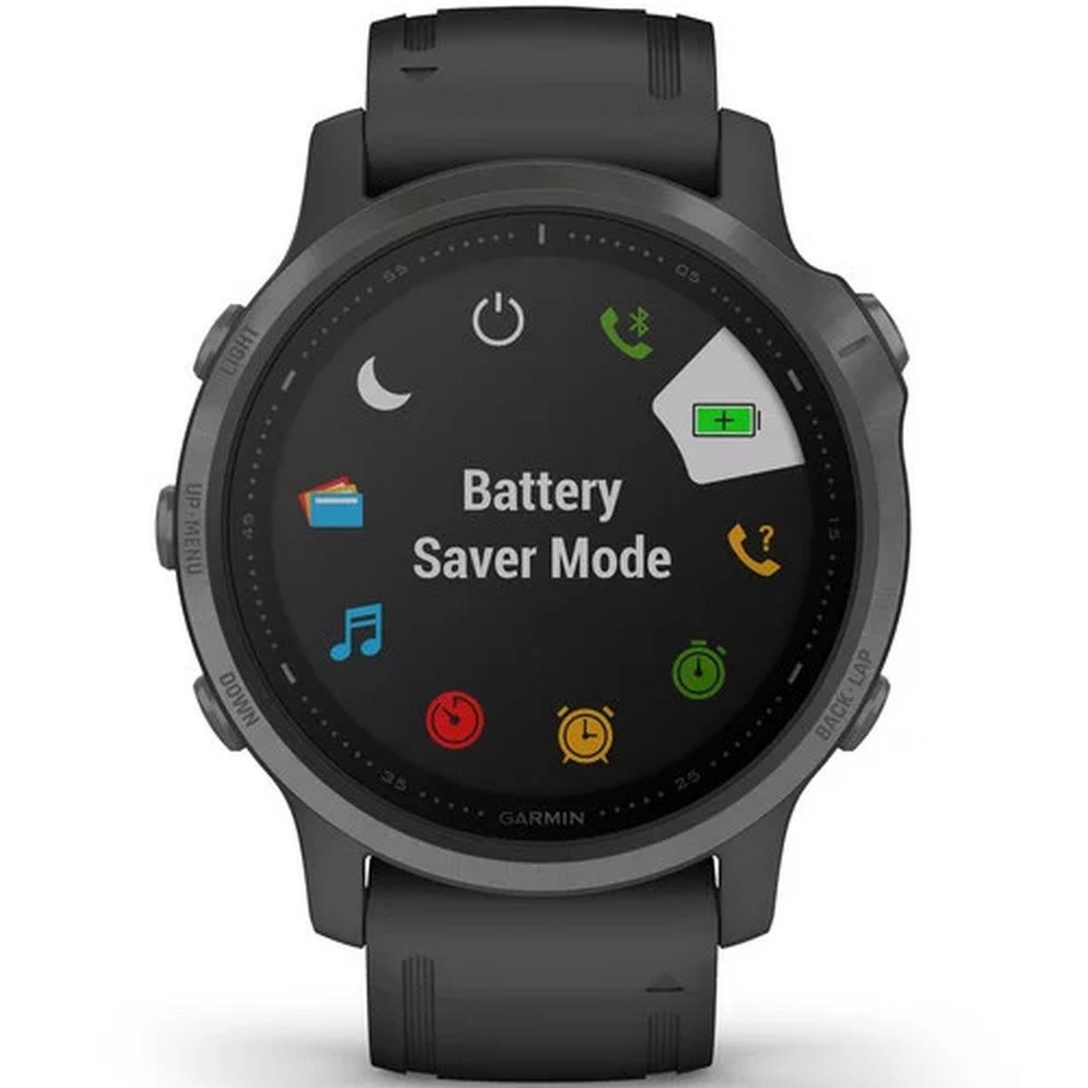 Garmin GPS Watch Fenix 6S Pro Black/Black Band