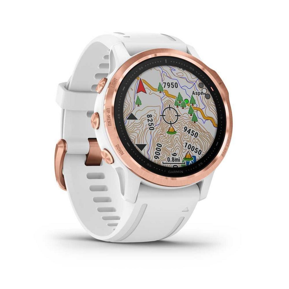 Garmin GPS Watch Fenix 6S Pro Rose Gold/White Band