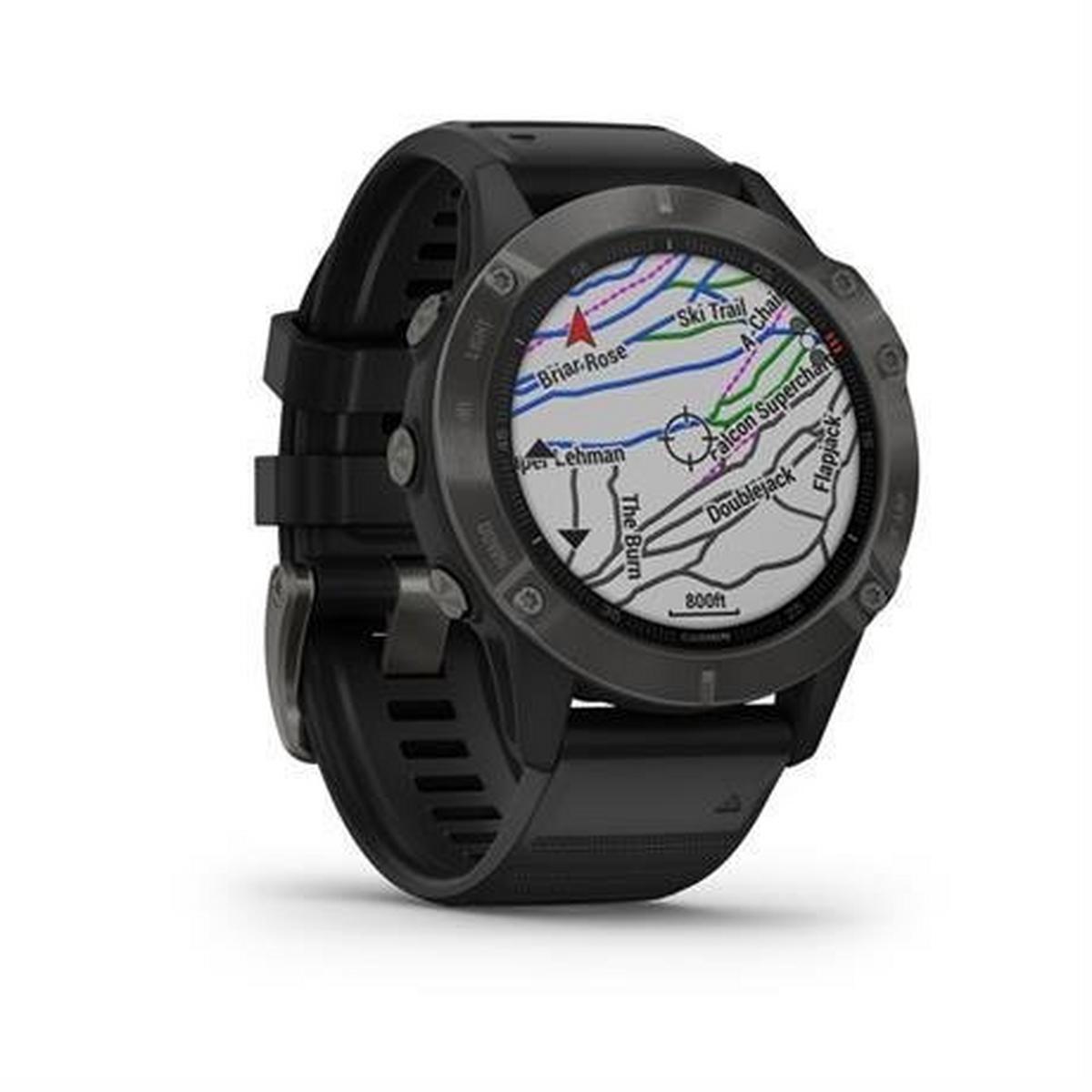 Garmin GPS Fenix 6 Sapphire Watch - Grey