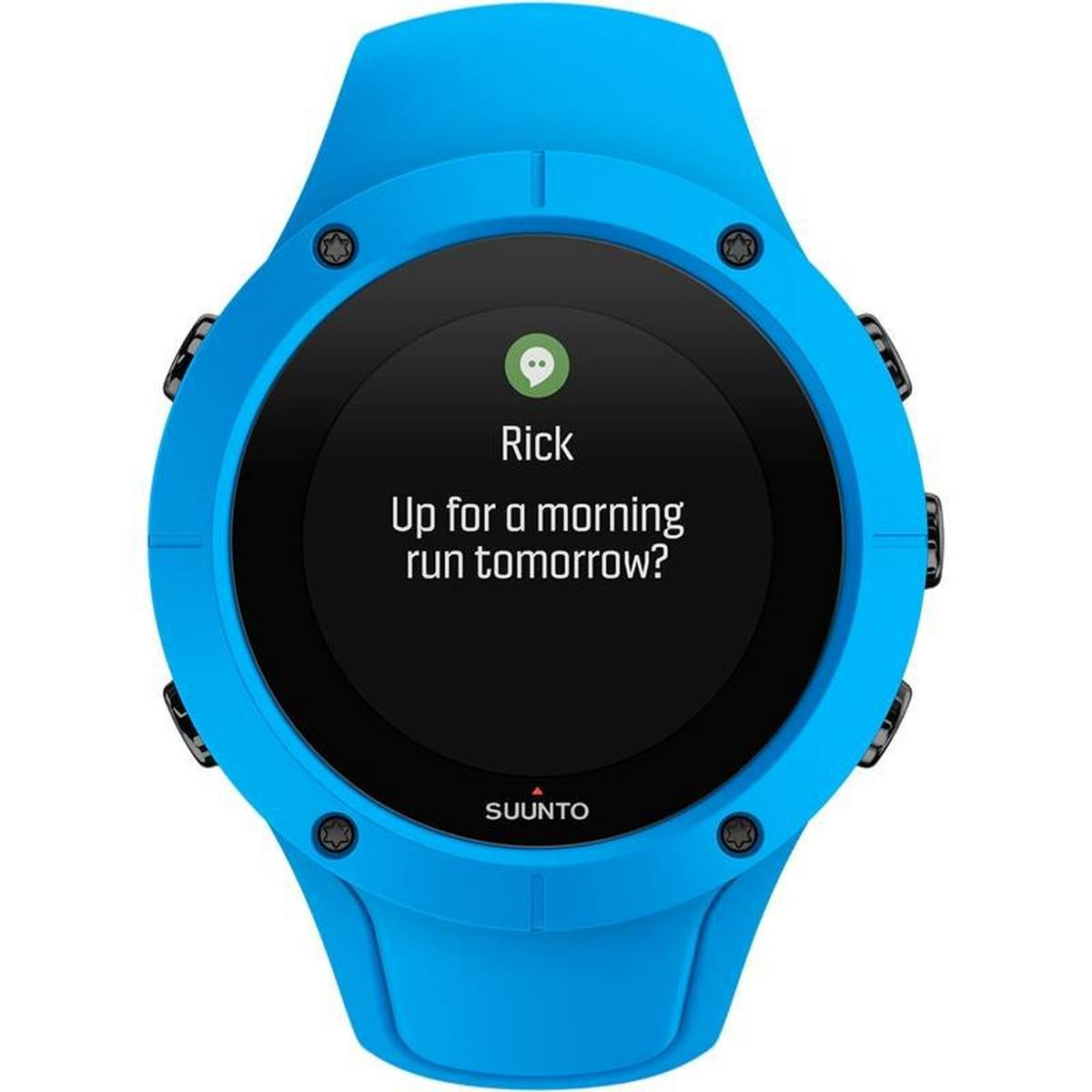 Suunto GPS Watch Spartan Trainer Wrist HR Blue