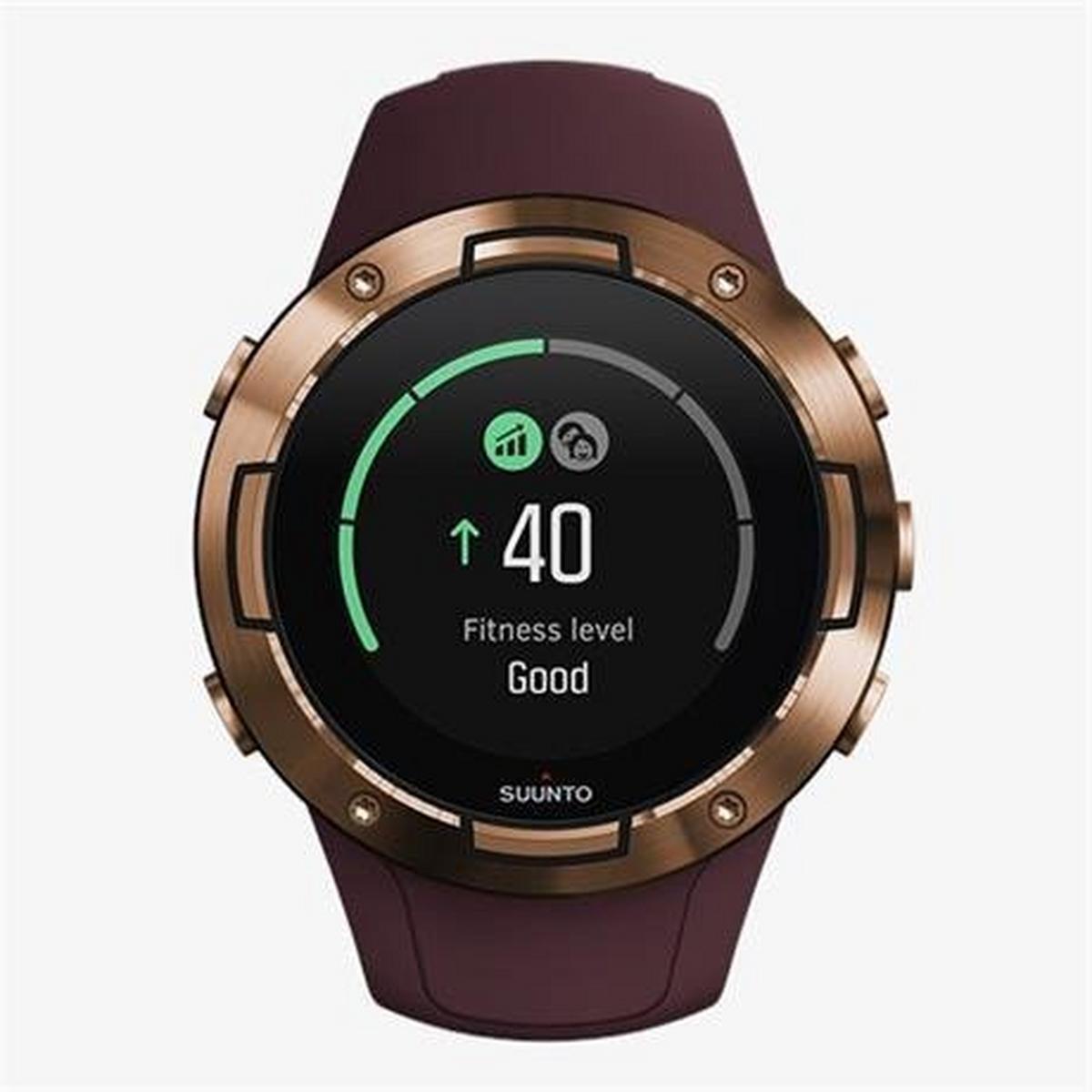 Suunto GPS Watch 5 Burgundy Copper