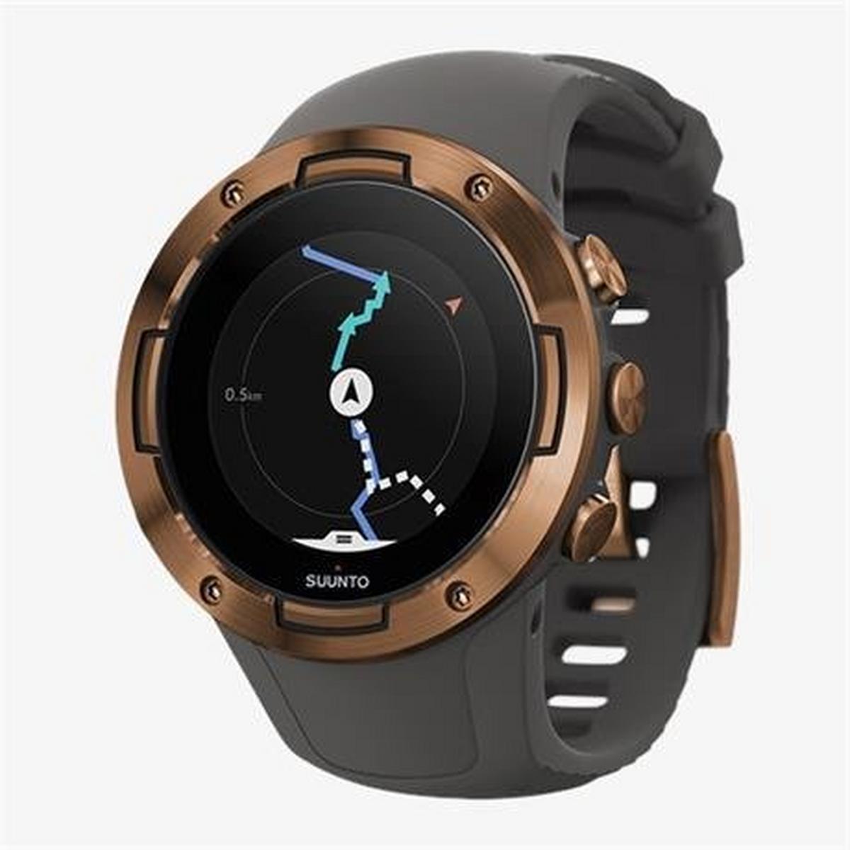 Suunto GPS Watch 5 Graphite Copper Kav