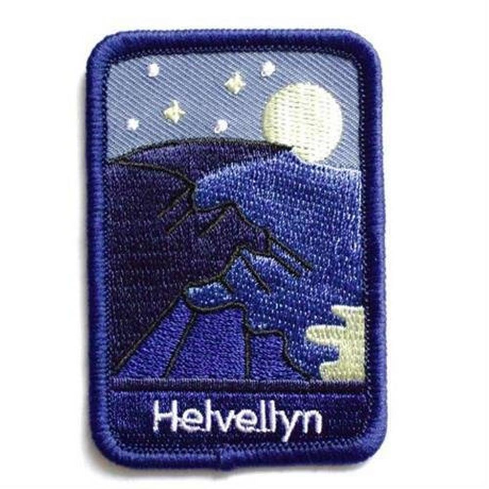 Conquer Lake District Patch - Helvellyn