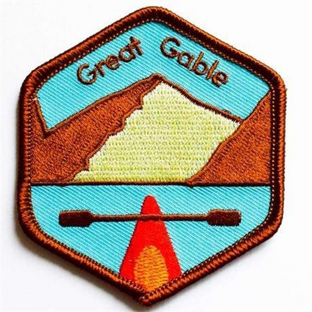 Conquer Lake District Patch - Great Gable