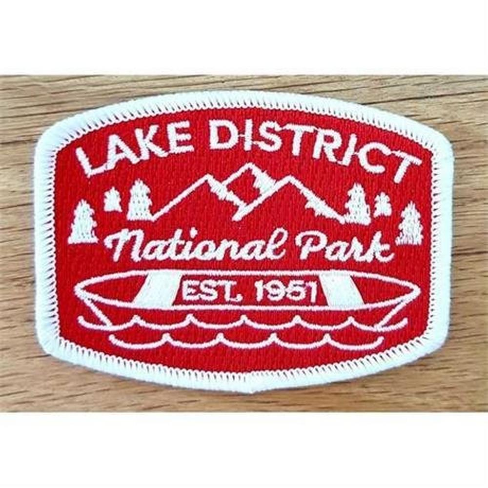 Conquer Lake District Patch - National Park
