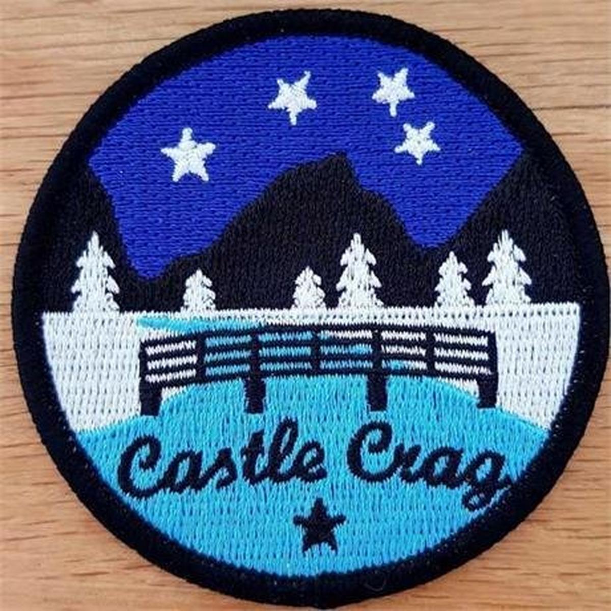 Conquer Lake District Patch - Castle Crag
