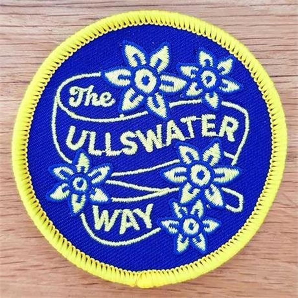 Conquer Lake District Patch - The Ullswater Way