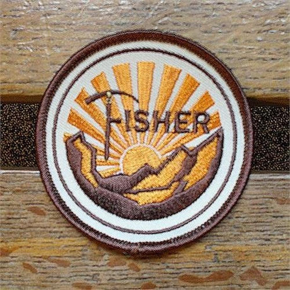 Conquer Lake District Patch - George Fisher Sunrise Badge