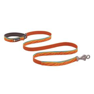 Flat Out Adjustable Dog Leash - Fall Mountains