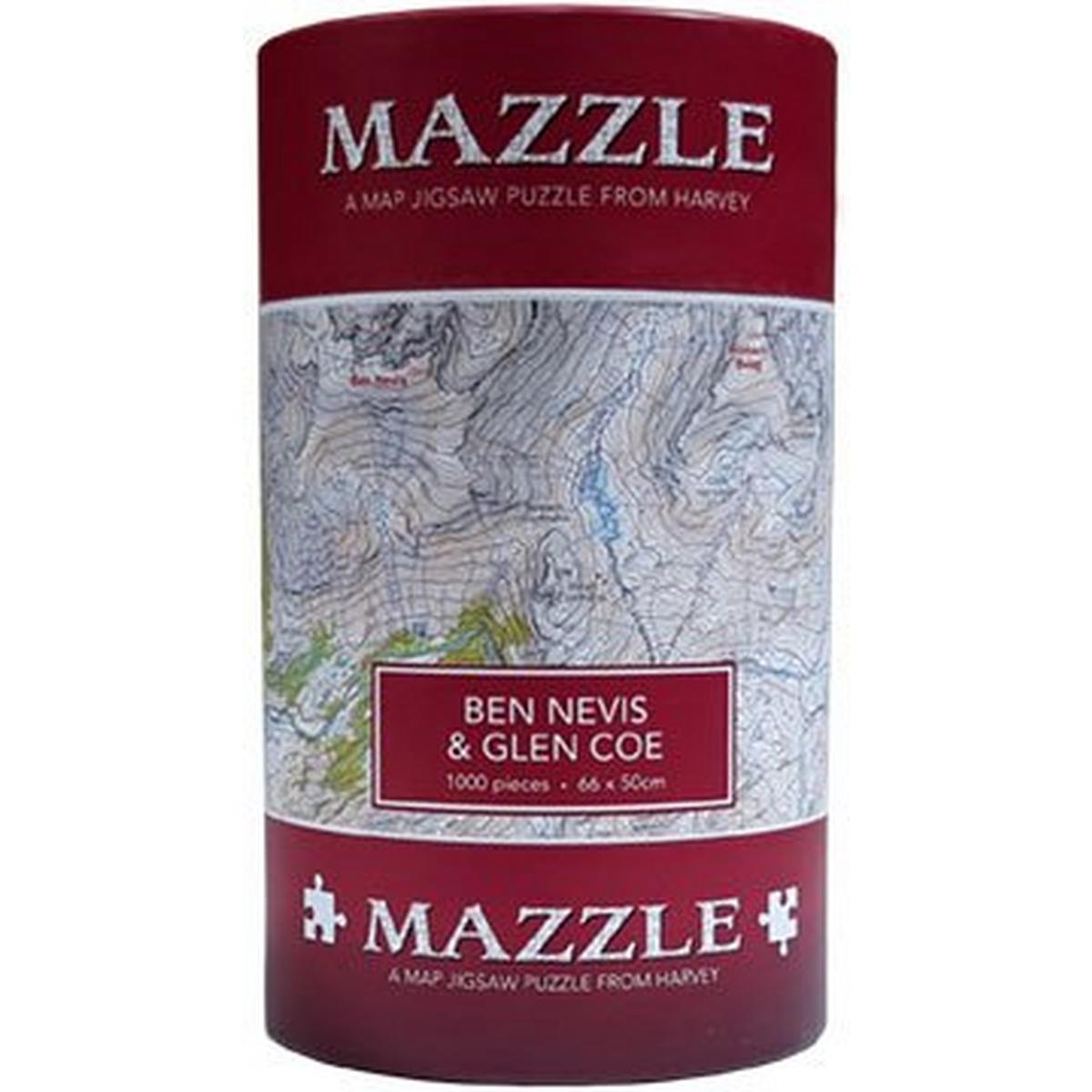 Harveys Mazzle Ben Nevis & Glen Coe