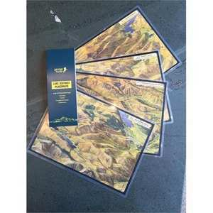 - Abraham's Cafe Placemats - Mixed Pack of 4