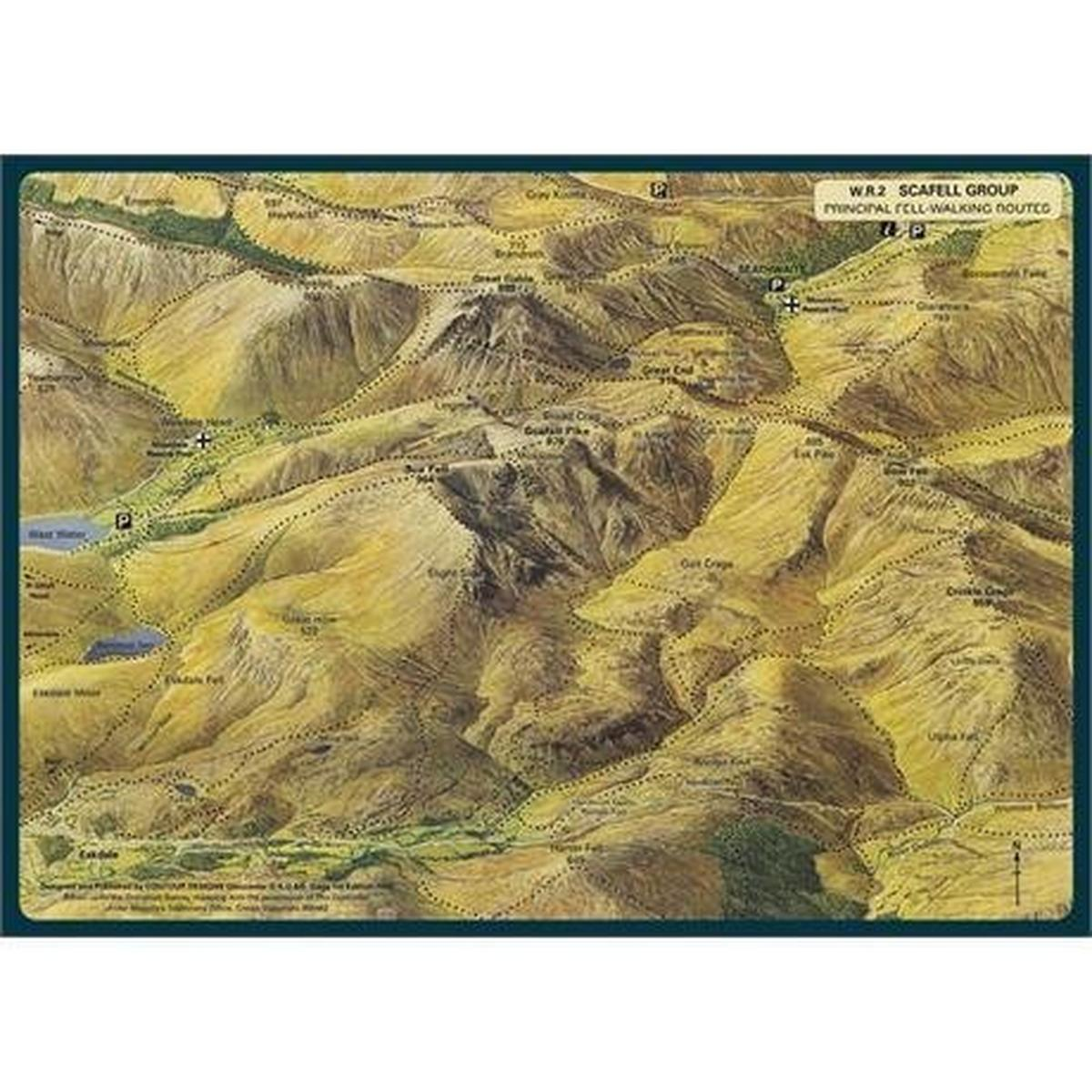 George Fisher - Abraham's Cafe Placemats - Mixed Pack of 4