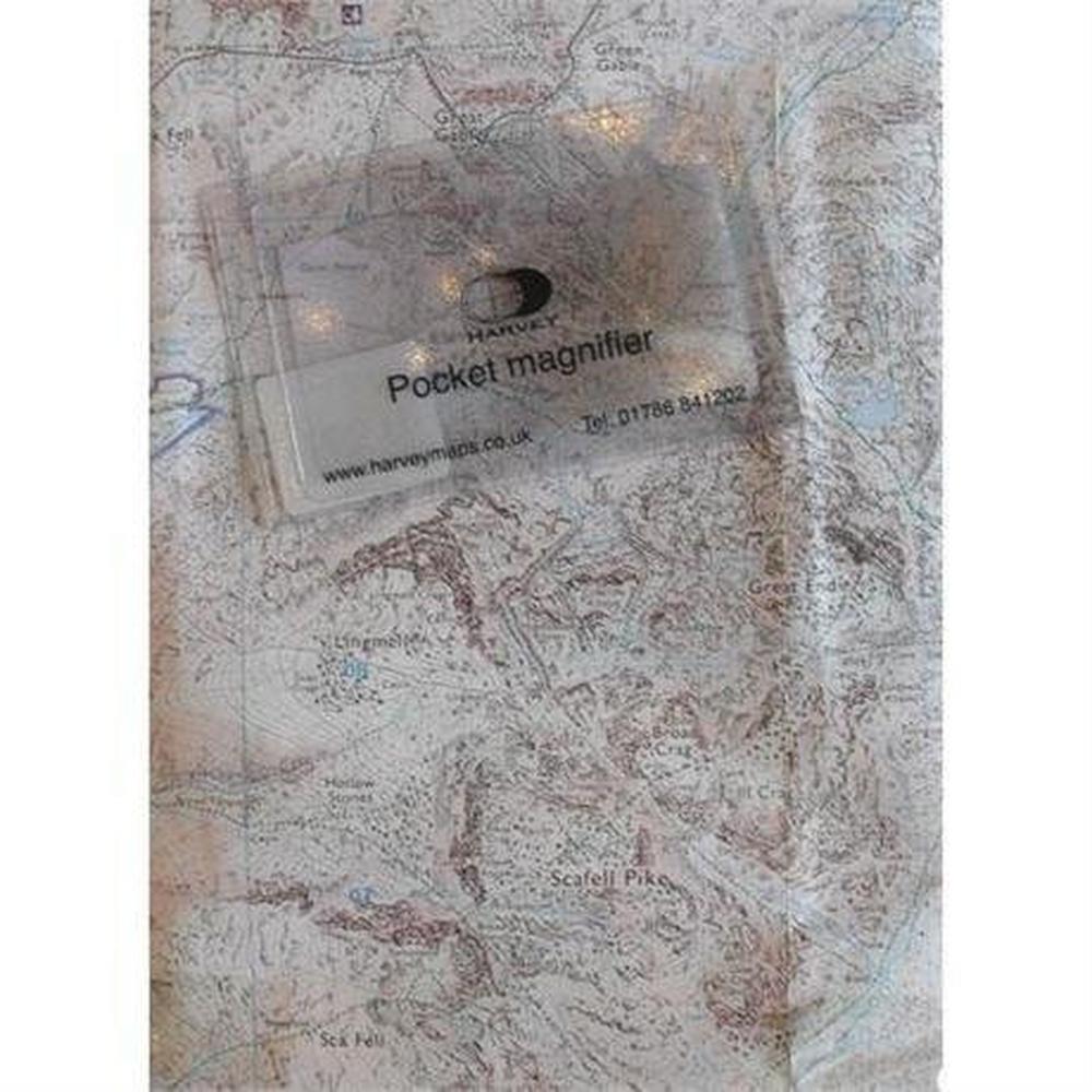 Harveys Harvey Pocket Lens Small 84 x 54mm Map Magnifier