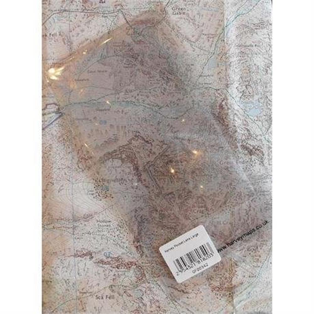 Harveys Harvey Pocket Lens Large 150x78mm Map Magnifier
